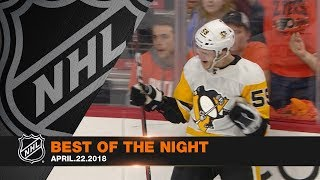 Preds and Pens advance, Couturier and Guentzel tally hat tricks by NHL