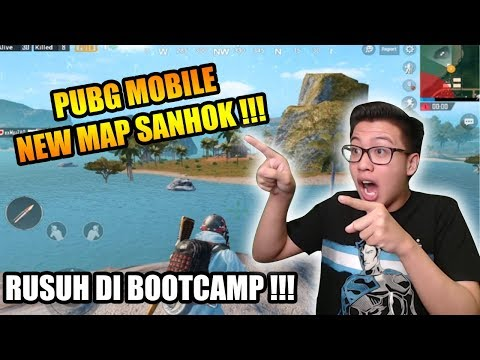 NEW UPDATE MAP SANHOK TEMPAT RUSUH DI BOOTCAMP !!! - PUBG MOBILE INDONESIA