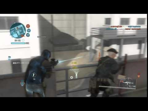 《Metal Gear Online》300円買鱷魚頭 慘被敵人發現射爆