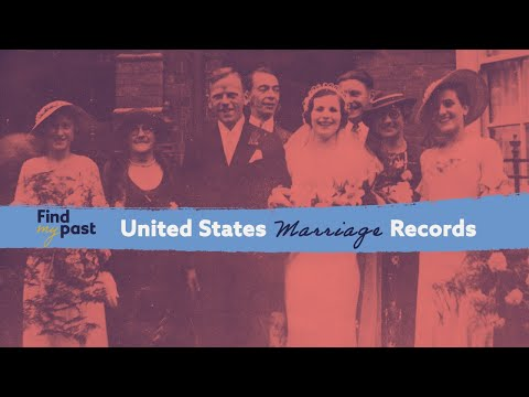 US Marriage Records at Findmypast