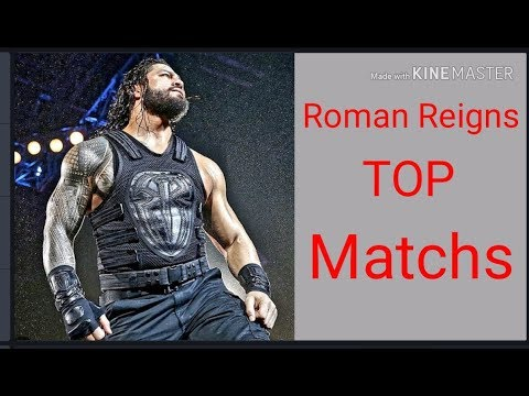 Roman Reigns Top 5 Match