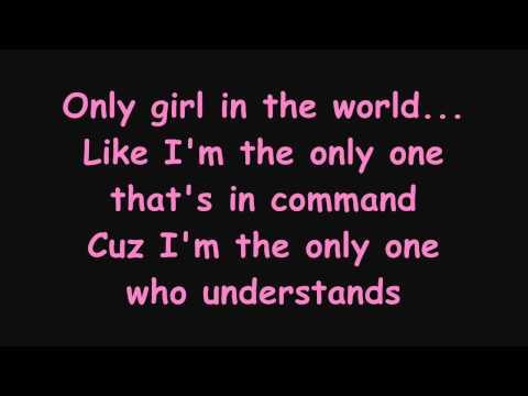 Rihanna - Only Girl (In The World) Lyrics(on screen)