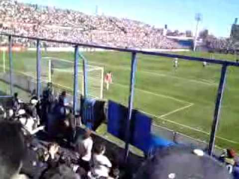Hinchada Negriazul en el Parque Central  12 - Los Negros de la Cuchilla - Liverpool de Montevideo