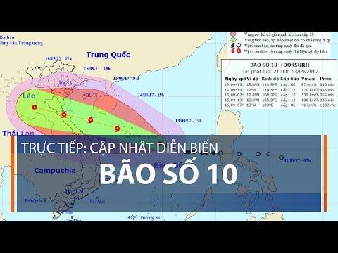 Trực tiếp: Cập nhật diễn biến bão số 10 | VTC1