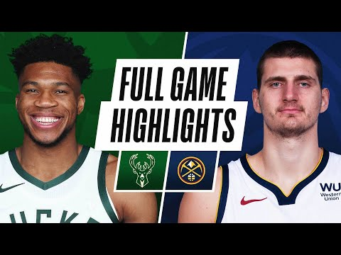 Video: BUCKS at NUGGETS | FULL GAME HIGHLIGHTS | February 8, 2021