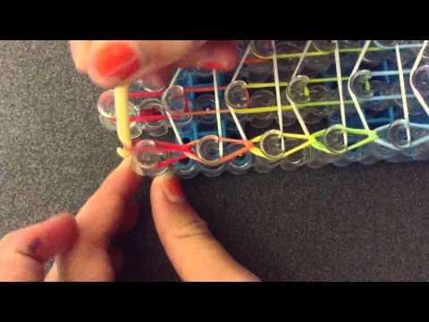 Rainbow – Loom Dreifach Armband Anleitung( Deustch)