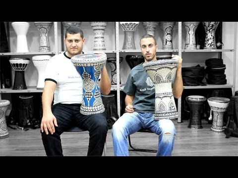 darbuka - Another Solo Doumbek by Arab Instruments Team. Buy a professional darbuka today on our website: http://www.arabinstruments.com/112730... If you like the movi...