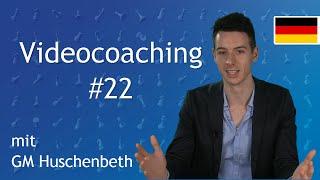 """In dieser Serie, """"Videocoaching"""", analysiere ich ausführlich eine Partie und gehe dabei spezifisch auf Fehler und..."""