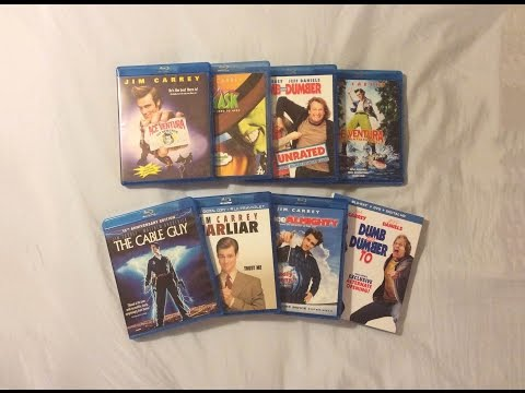 Jim Carrey Movies Collection (1994-2014) Blu Ray Discussion Review