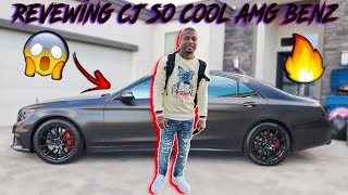REVIEWING CJ SO COOL PRESIDENTIAL WRAPPED AMG BENZ