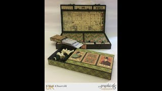 I'm really excited to be sharing my Graphic 45 Introduction project for 2017 with you. The project has been altered in papers from the Master Detective collection by Graphic 45,  has five board games, cards and dice inside for hours of family fun.  To pre-order the kit follow the link below: Full Compendium of Games Kithttp://www.mycreativespirit.co.uk/compendium-of-games-box-kit-1134-p.aspBasic Compendium of Games Kit http://www.mycreativespirit.co.uk/basic-compendium-of-games-box-kit-1137-p.aspIf you'd like to use my Signature Assembly system to construct your projects see link below to my Black Construction Tapehttp://www.mycreativespirit.co.uk/construction-tape-534-p.aspTo view my full range of  products visit my website at www.mycreativespirit.co.uk