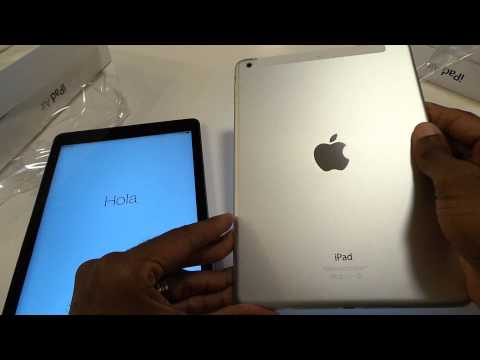 4g lte ipad - Check out my unboxing of the iPad Air! iPad on Amazon http://goo.gl/ySrXzL.