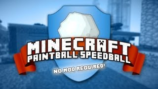 Server Spotlight - Minecraft Paintball / Speedball (No Whitelist!)