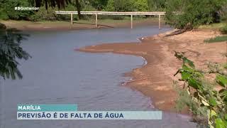 DAEM alerta para possibilidade de faltar água em Marília