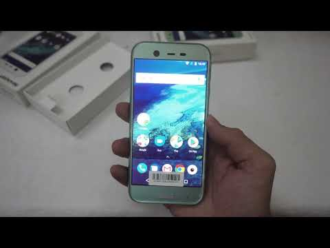 Trên tay điện thoại Android One Sharp X1 - Pin lên đến 3900mAh
