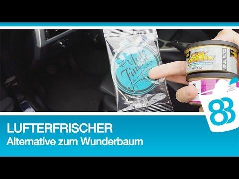 Lufterfrischer Alternative zum Wunderbaum Autopflege Tutorial Lufterfrischer