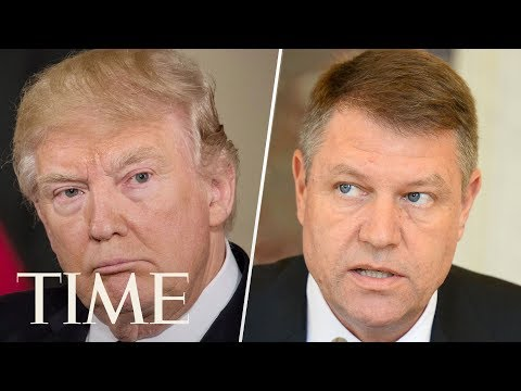 President Donald Trump Holds Press Conference With Romanian President Klaus Iohannis | TIME