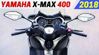 2. NEW 2018 Yamaha X-MAX 400 - New Performance With The Larger Engine and A Longer Wheelbase