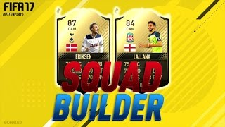 FIFA 17 Squad Builder - CAM DUO OF DREAMS! BEST INFORM CAM UNDER 80K! w/ SIF Eriksen + IF Lallana! ► Follow me on Twitter! http://twitter.com/HuttonPlays ► C...