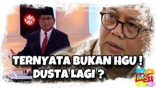 Video Du(s)ta Lagi! Status Lahan Prabowo Bukan HGU dan Izinnya Melenceng, Harusnya Dikembalikan ke Negara! MP3, 3GP, MP4, WEBM, AVI, FLV Februari 2019