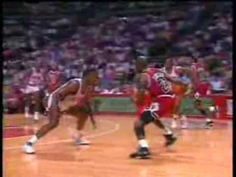 Michael Jordan's 3-Pointer vs. Pistons