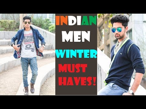 Indian Men's Winter Fashion casuals | Improve your style| Fashion tips for indian men