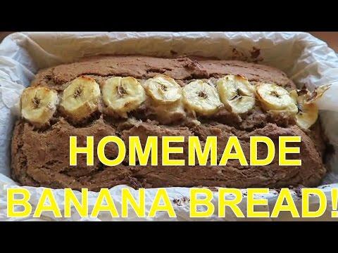 Amazing Homemade Banana Bread! Vegan, No Oil & Refined Sugar Free