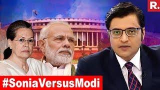 Video Sonia Gandhi's Challenge: Will Defeat Modi | The Debate With Arnab Goswami MP3, 3GP, MP4, WEBM, AVI, FLV Juli 2018