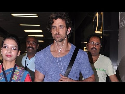 AIRPORT DIARIES: Hrithik Roshan Returns From Singa