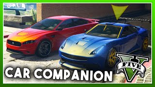 CAR COMPANION MOD! (Autonomous Cars, Planes, & Helicopters!) - GTA 5 PC MODS