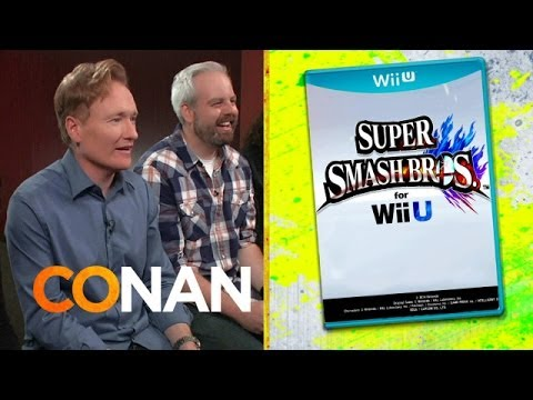 Conan recenzuje Super Smash Bros.