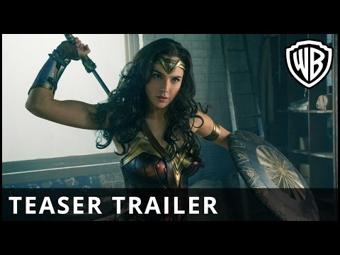 Preview Trailer Wonder Woman, teaser trailer italiano