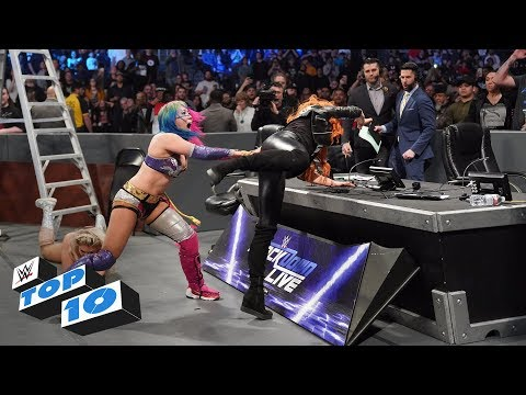 Top 10 SmackDown LIVE moments: WWE Top 10, December 11, 2018