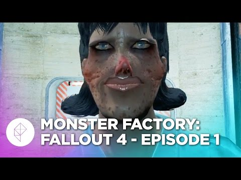 [Gaming] Guys find out they can make characters extra small in Fallout 4, turns out to be hilarious