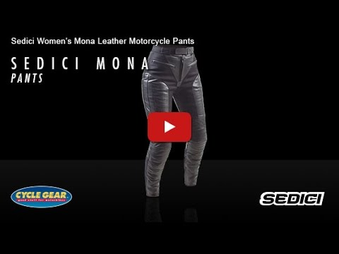 SEDICI - Women's Mona Leather Motorcycle Pants Official Product Overview at Cycle Gear