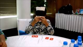 Blindfold Activity - Arranging Numbers