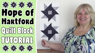 Hope of Hartford Quilt Block Tutorial: In this tutorial, we show you how to create the Hope of Hartford Quilt Block. --FULL WRITTEN INSTRUCTIONS--http://www.alandacraft.com/quilt-blocks-hope-of-hartford-quilt-block-tutorial/---WATCH MORE QUILT BLOCK TUTORIALS HERE---https://www.youtube.com/playlist?list=PLMxvvtt3Z3CKZx04rEe8Vod1SP1EX767l---FOLLOW US ON---Website: http://www.alandacraft.comFacebook: http://www.facebook.com/alandacraftPinterest: http://www.pinterest.com/alandacraft/Instagram: http://instagram.com/alandacraftTwitter: http://twitter.com/AlandaCraftTumblr: http://www.tumblr.com/blog/alandacraft
