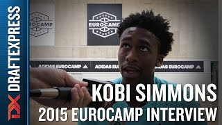 Kobi Simmons Interview at the 2015 adidas EuroCamp - DraftExpress