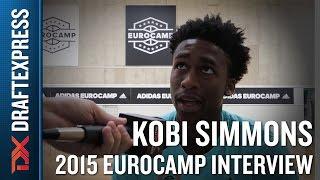 Kobi Simmons Interview at the 2015 adidas EuroCamp - DraftExpress