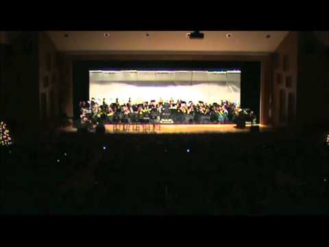 PEHSBAND-Marching Band-An American Christmas-2010_12_16 (Collage Concert).wmv