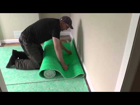 DIY: Fitting a Carpet Part 1 - The Underlay