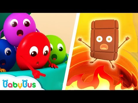 Colorful Candies Rescue Team | Lagu Berwarna | Pelajari Warna | Kartun Anak-Anak | BabyBus