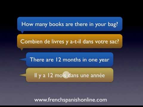 Il Y A im Französischen
