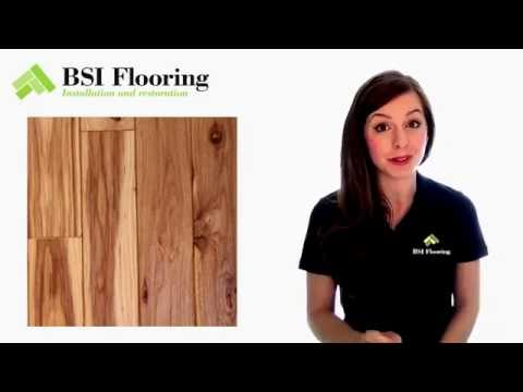 The most popular choices of wood species for hardwood flooring