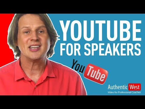 How Public Speakers use YouTube to become a Subject Matter Experts  |  Brighton West