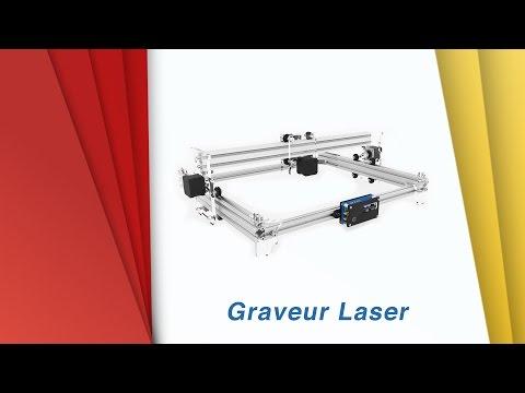 Graveur laser - déballage - montage - test