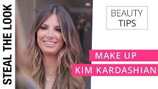 A Verdadeira Make da Kim Kardashian | Steal The Look Beauty Tips