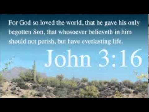 Lidia and John 3:16.
