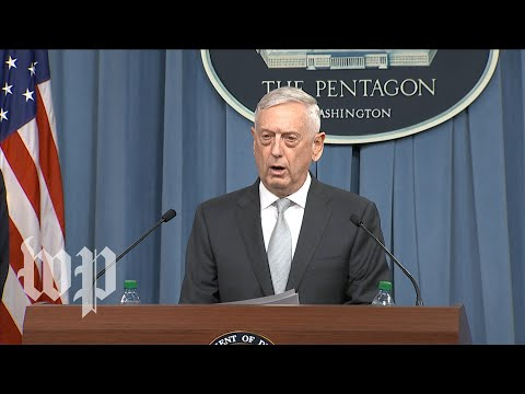 Video Pentagon briefing on Syria strike download in MP3, 3GP, MP4, WEBM, AVI, FLV January 2017