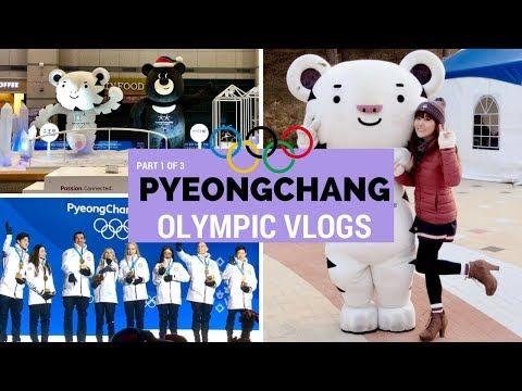 Pyeongchang 2018 Winter Olympics Vlog - Part 1 of 3 | KOREA TRAVEL VLOG (видео)